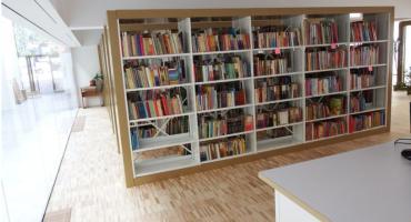 Książki w nowym miejscu