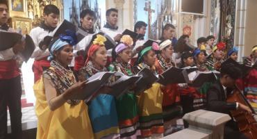 Boliwijscy Indianie zagrali w Nysie