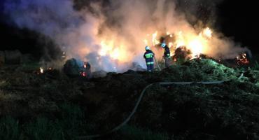 Czy to podpalacz? Niekończąca się seria pożarów w gminie Brudzeń Duży