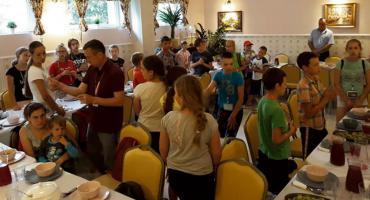 Młodzi Polacy z Wilna na wakacjach w Płocku