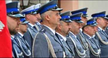 Policjanci z awansami i medalami. Święto Policji w Gostyninie