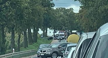 Wypadek na skrzyżowaniu na Boryszewo. Są utrudnienia w ruchu
