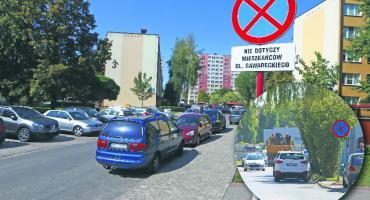 Problem z ruchem samochodowym wokół targowiska przy Rembielińskiego