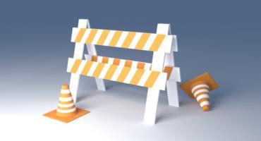 Dzisiejsze naprawy dróg i czasowa organizacja ruchu przy stadionie Górskiego