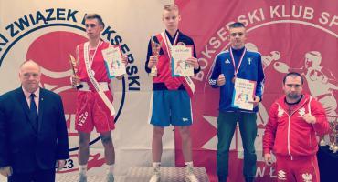 Kacper Cieszkowski medalistą w boksie