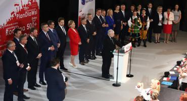 Prezes Jarosław Kaczyński w Płocku [ZDJĘCIA, FILM]