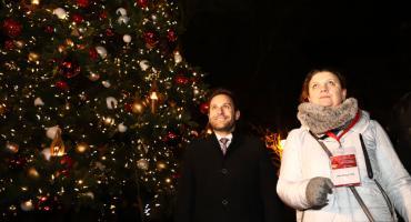 Poczuliśmy magię świąt! Tłumy płocczan w Ogrodach Światła    [ZDJĘCIA]