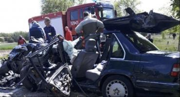 Wypadek w Długowoli. Jedna osoba nie żyje