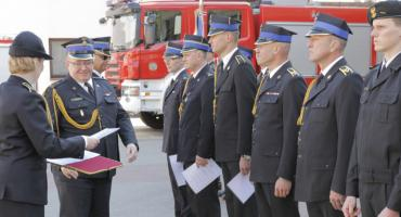 Święto strażaków. 9 z awansami