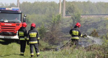 Płomienie przy Janiszewskiej