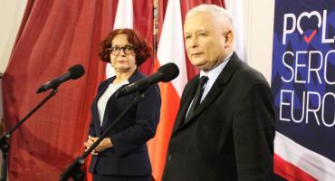 Jarosław Kaczyński w Rykach