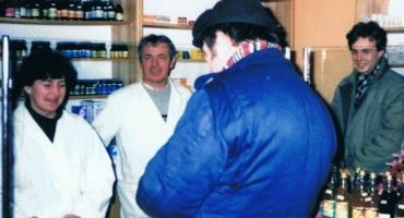 Otworzył pierwszą prywatną aptekę w powiecie