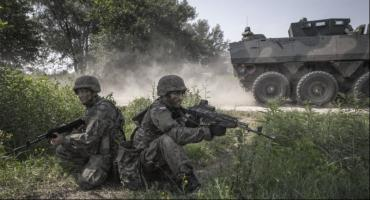Lubelscy terytorialsi na ćwiczeniach DRAGON-19