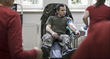 Ponad 800 litrów krwi od Terytorialsów