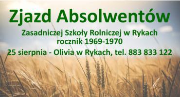 Zjazd absolwentów Szkoły Rolniczej w Rykach