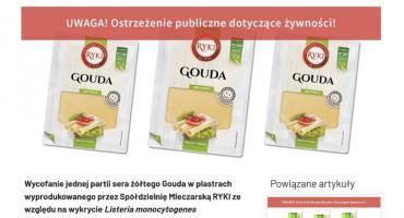 Zamieszanie wokół sera Gouda (AKTUALIZACJA)