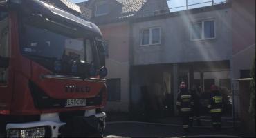 Dęblin: Pożar domu