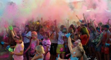 Festiwal kolorów zrobił furorę (wideo + zdjęcia)