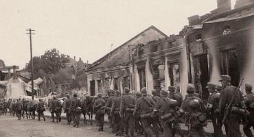 Niemieckie samoloty pojawiły się już pierwszego dnia wojny