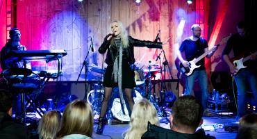 Małgorzata Beczek dała koncert w domu