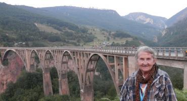 Hanna Dąbrowska z Ryk na bałkańskim szlaku