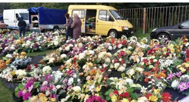 Wszystkich Świętych coraz bliżej. Handel kwiatami kwitnie