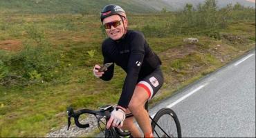 Wygrał rowerowy maraton z Helu do Zakopanego.