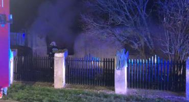 Ryki - Pożar domu na Dolnej. Jedna osoba nie żyje