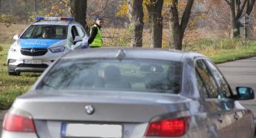 Akcja Znicz w Rykach.11 kolizji i 2 pijanych kierowców