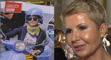Joanna Racewicz na skuterze: Niestety nie wszyscy kierowcy szanują takie jednoślady