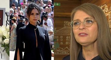 Irena Kamińska-Radomska ostro o kreacji Victorii Beckham: To strój żałobny