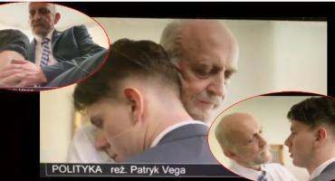 Gejowski romans na politycznych salonach. Kolejny wątek z filmu Vegi