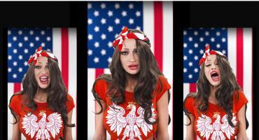 Małgorzata Godlewska zaśpiewała hymn USA. Tego nie da się odusłyszeć!