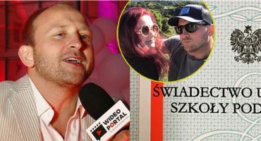 Borys Szyc wywołał aferę świadectwem córki: Czerwony pasek kosztował ją mnóstwo nerwów i wysiłku