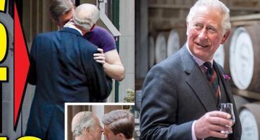 Szok! Książę Karol jest gejem? Następca tronu przyłapany z chłopakiem FOTO