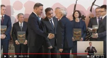 Dyrektor przasnyskiego szpitala - Jerzy Sadowski wyróżniony przez Prezydenta RP