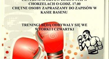 Trening Boksu w Chorzelach - zaproszenie