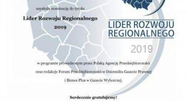 Nominacja Uczelni Lingwistyczno-Techniczej w Przasnyszu na Lidera Rozwoju Regionalnego