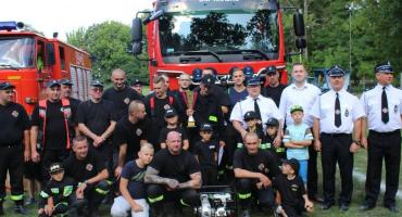 OSP Krasne zwycięską drużyną w międzygminnych zawodach sportowo-pożarniczych