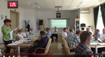 Kłótnia na sesji Rady Gminy. Były starosta totalnie krytykowany [Wideo]