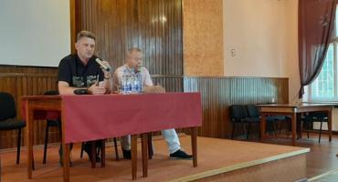 Andrzej Rozenek spotkał się z mieszkańcami Przasnysza