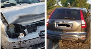 Na trasie Sierakowo-Dobrzankowo doszło do zderzenia osobówek