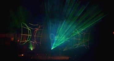 Tylko w Przasnyszu - Kotkowski w Laserach [Wideo]