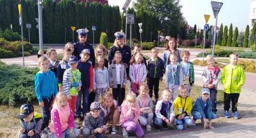 Policjantki ruchu drogowego spotkały się z uczniami