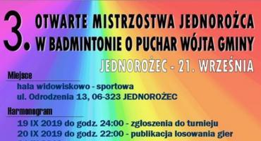 3. Otwarte Mistrzostwa Jednorożca w Badmintonie