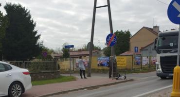 Z ostatniej chwili: Potrącenie rowerzysty na Piłsudskiego w Przasnyszu