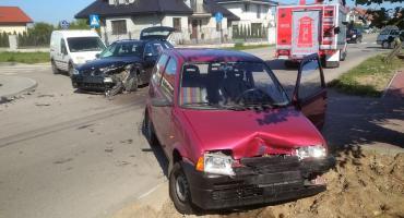 Do wypadku trzech aut doszło skrzyżowaniu Sadowej i Jaśminowe