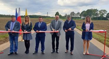 Droga powiatowa w m. Ulatowo Żyły uroczyście otwarta.