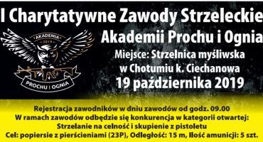 Charytatywne zawodach strzeleckie dla żołnierza z 2.ORel i jednostki wojskowej w Ciechanowie