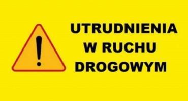 Uwaga! Utrudnienia w ruchu drogowym na terenie miasta